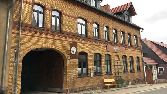 Gebäudeansicht - Gasthaus Schilling in Effelder