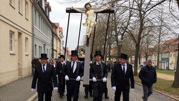 Prozession zum Palmsonntag in Heiligenstadt