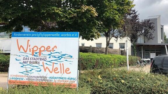Das Hallenbad Wipperwelle in Worbis
