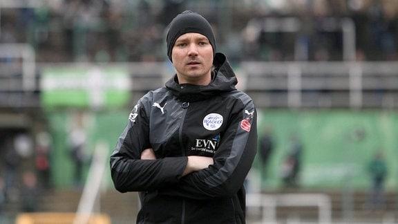 Trainer Philipp Seeland (Nordhausen)