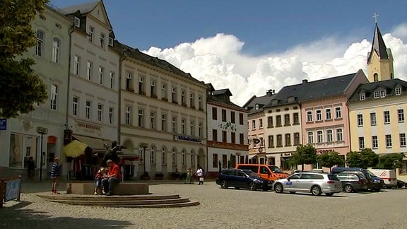 Innenstadt von Bad Lobenstein