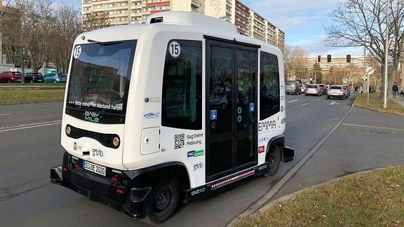 Moderner Kleinbus in Gera