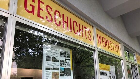 Geschichtswerkstatt in Gera-Lusan
