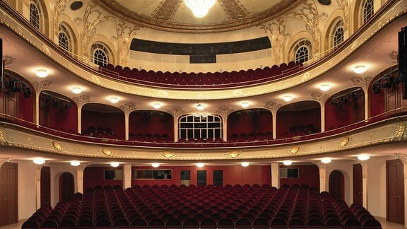 Theatersaal Gera Innenansicht