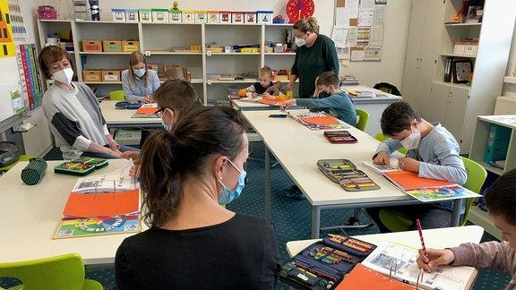 Unterricht in der Förderschule Schleiz
