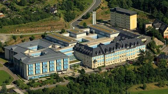 Luftbild Kreiskrankenhaus Greiz