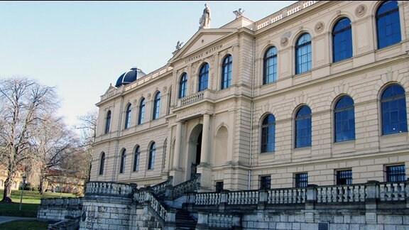 das Lindenaumuseum in Altenburg