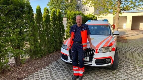 Dr. Ron Sturm, Notarzt und 1. Ärztlicher Leiter Rettungsdienst im Rettungsdienstzweckverband Ostthüringen