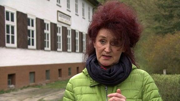 Die Bürgermeisterin von Schwarzburg Heike Printz