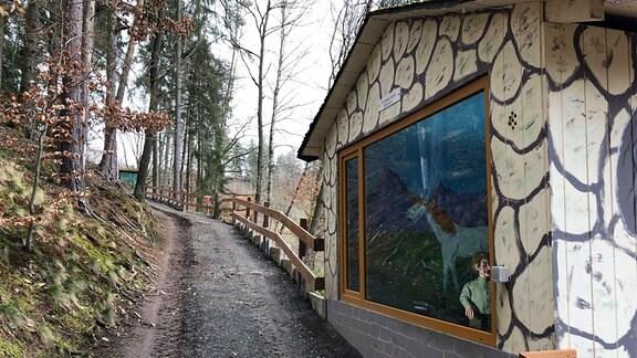 Im Märchenwald Saalburg