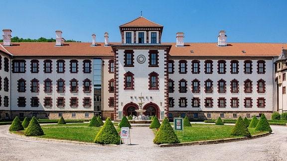Auߟenansicht, Schloss Elisabethenburg, Meiningen