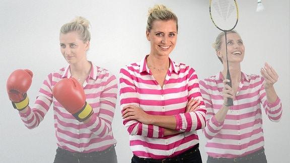 MDR THÜRINGEN-Sport-Moderatorin Stefanie Benke