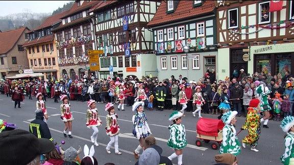 Karneval in Wasungen 2015