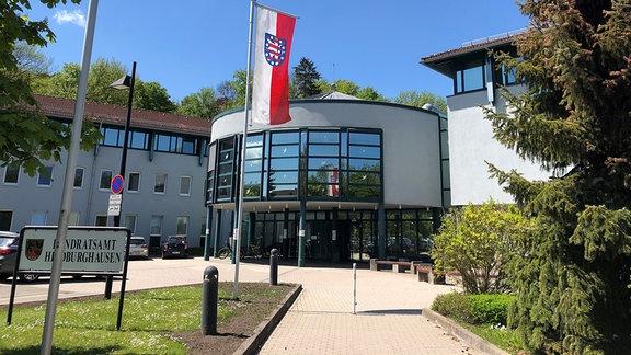 Das Landratsamt in Hildburghausen