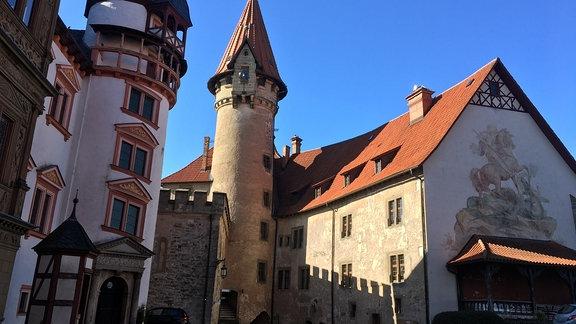 Veste Heldburg von außen