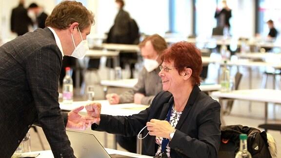 Robert-Martin Montag und Dr. Ute Bergner