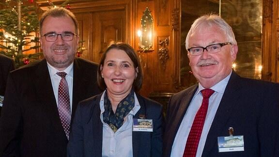 Stephan Fauth, Prof. Dr. Siegfried Russwurm, Dr. Ute Zacharias und Hartmut Koch, 2016