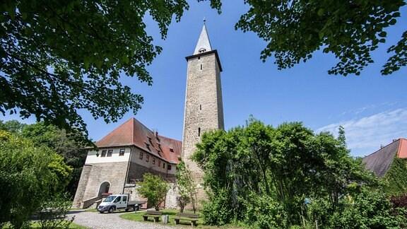 Eine historische Burganlage