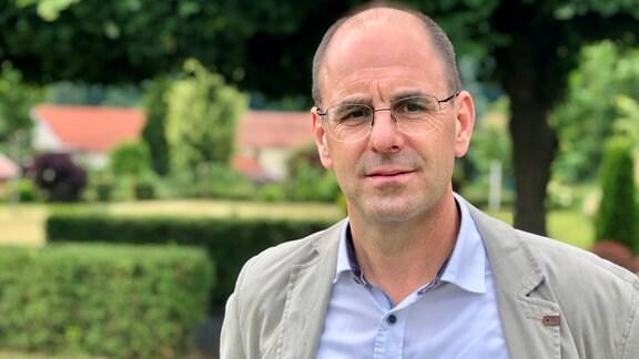 Treffurts Bürgermeister Michael Reinz (parteilos).