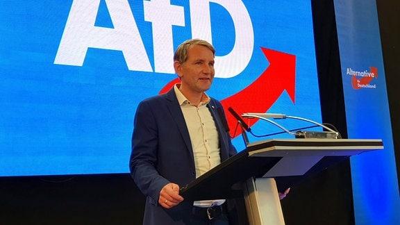 Thüringens AfD-Vorsitzender Björn Höcke