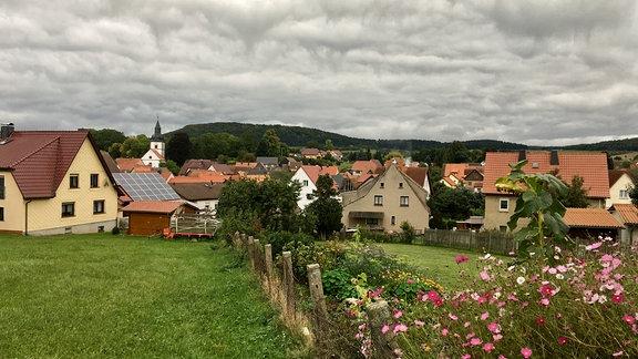 Ortsansicht von Wiesenthal im Wartburgkreis