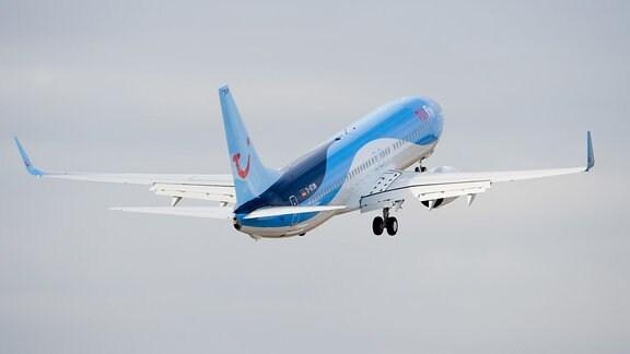 Boeing 737-800 der Fluggesellschaft TuiFly