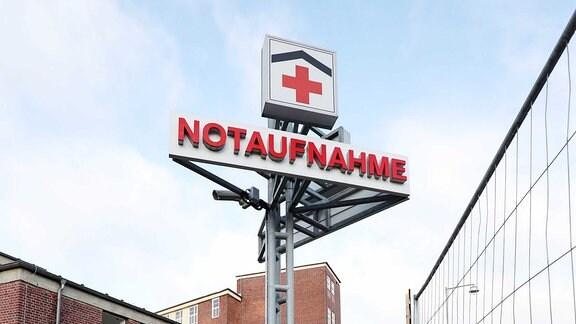 Notaufnahme der Uniklinik Magdeburg