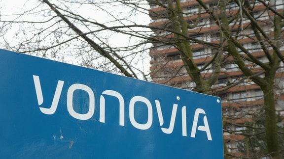 Logo, Schriftzug des deutschen Immobilienkonzern Vonovia