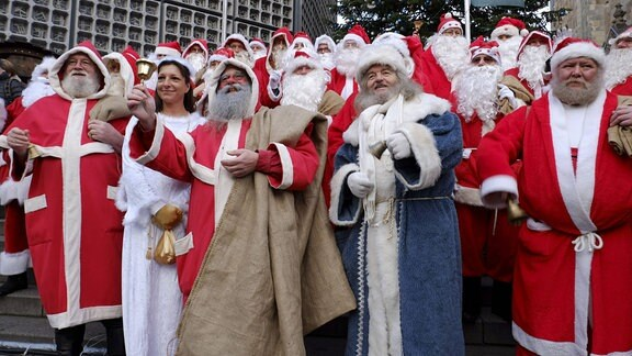 Vollversammlung der Berliner Weihnachtsmänner, 2016