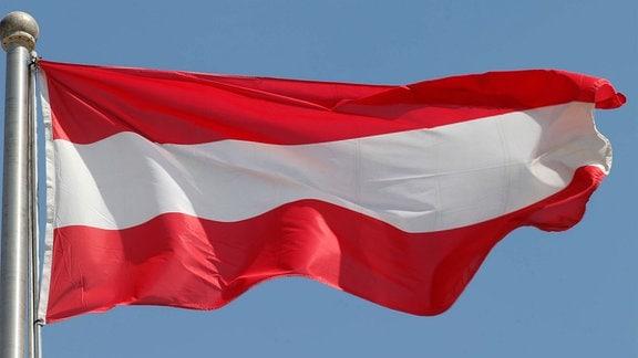 Nationalfahne von Österreich