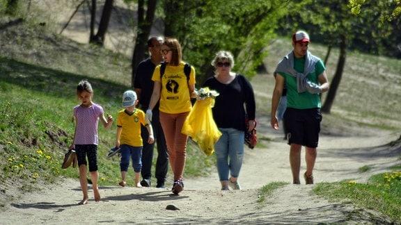 Litauen Frühjahrsputz