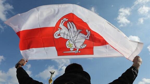 Belarusische Flagge