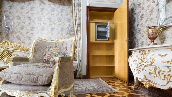 Tresor in Ceausescu-Villa, Bukarest