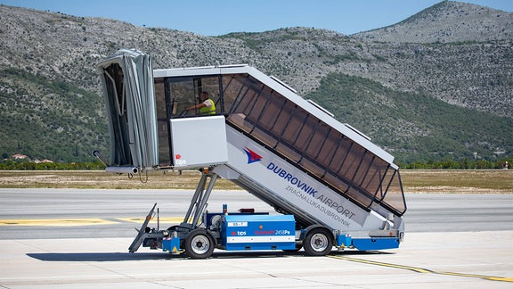 Flughafen - mobile Treppe