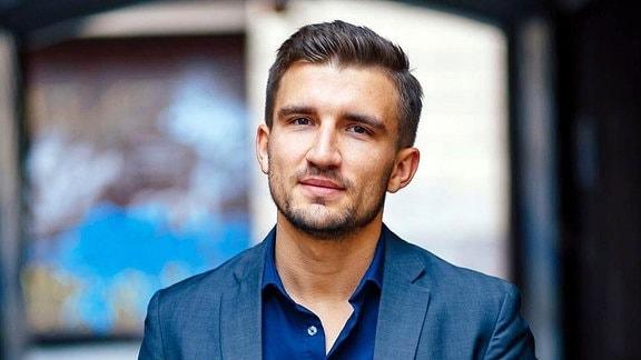 Porträt Maksimas Milta