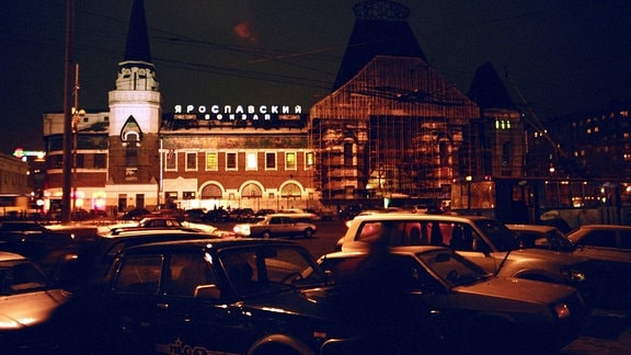 Jaroslawler Bahnhof in Moskau