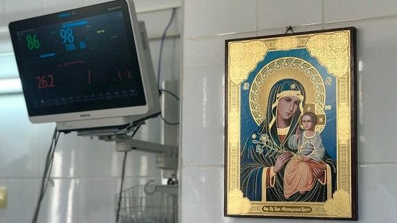 Corona-Station in einem rumänischen Krankenhaus