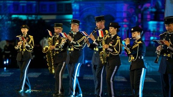 Das Musikkorps von Versailles