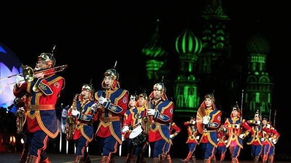 Moskau Militärmusikfestival