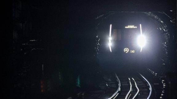 Tunnel der Moskauer Metro