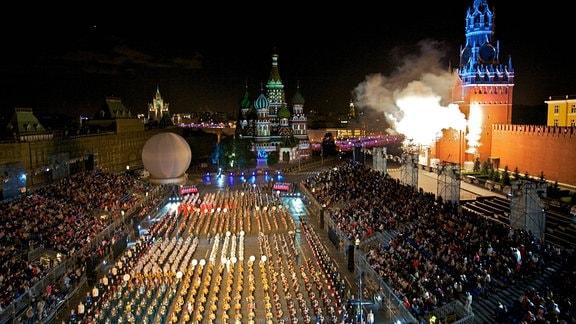 Moskauer Militärmusikfestival
