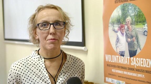 Agnieszka Kobierowska, Freiwillige Helferin