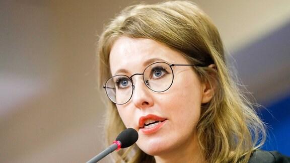 Journalistin Ksenia Sobchak