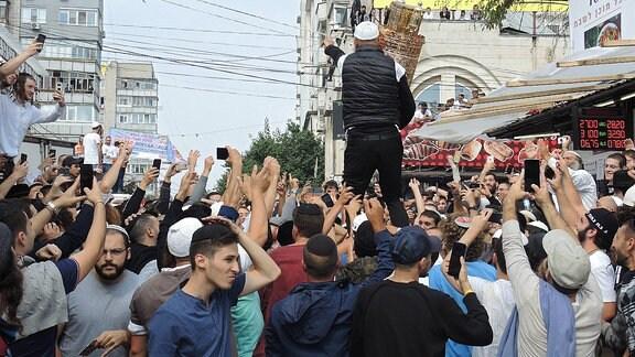 Jüdische Pilger in Uman