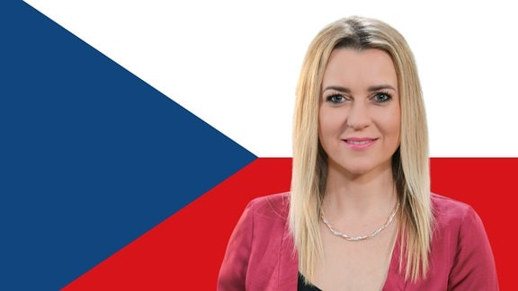 Diese blonde Frau ist unsre tschechische Ostbloggerin Helena Šulcová.
