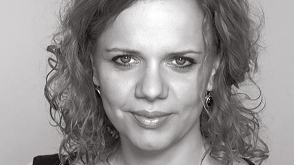 Bára Procházková, tschechische Journalistin und Moderatorin