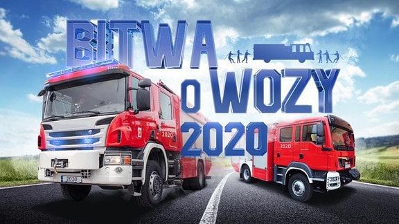 """Die Werbung für den """"Kampf um das Feuerwehrauto"""""""