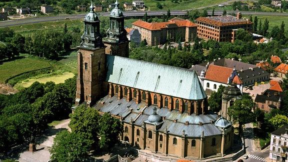 Die gotische Kathedrale in Gnesen.