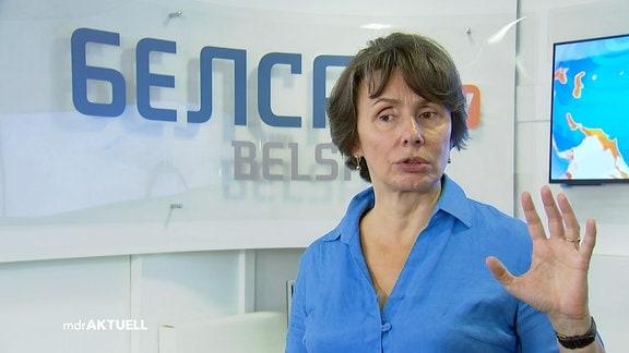 Agnieszka Romaszewska, Chefredakteurin Belsat