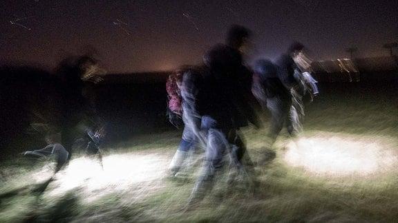 Flüchtlinge von Serbien nach Rumänien